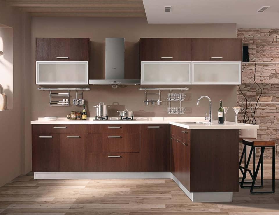 custom european frameless kitchen cabinets near me