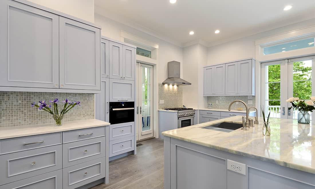 custom gray shaker cabinets in arizona