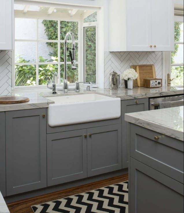 gray kitchen cabinets in phoenix