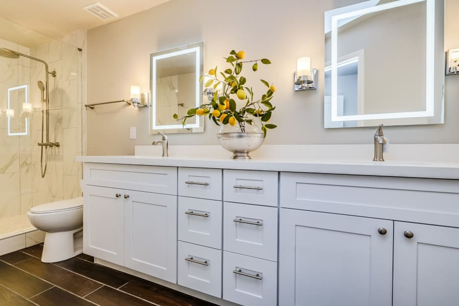 shaker bathroom cabinets in phoenix