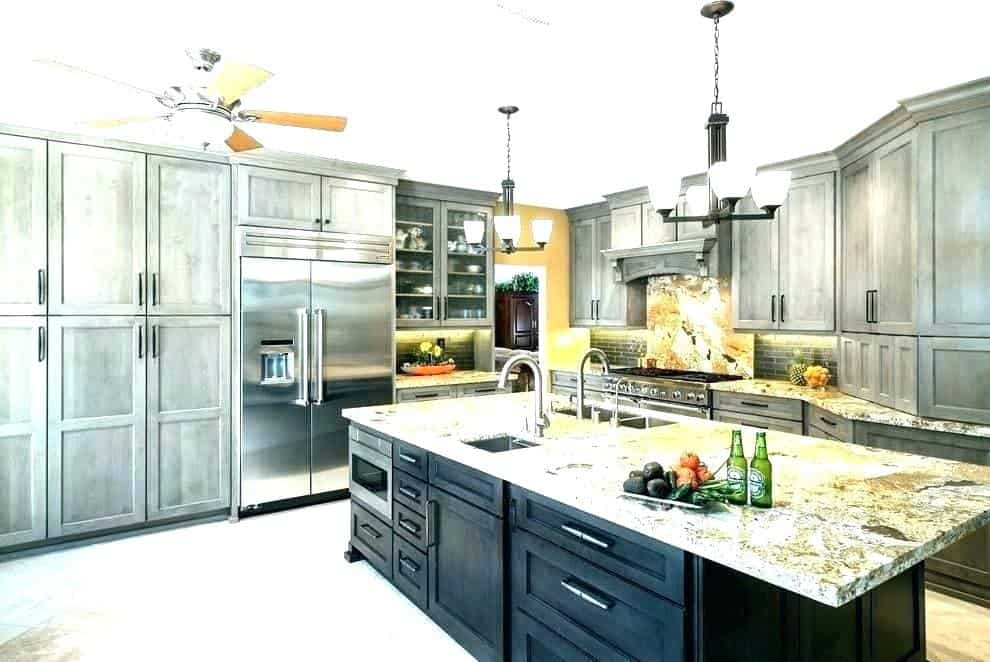 weathered grain kitchen cabinets in arizona