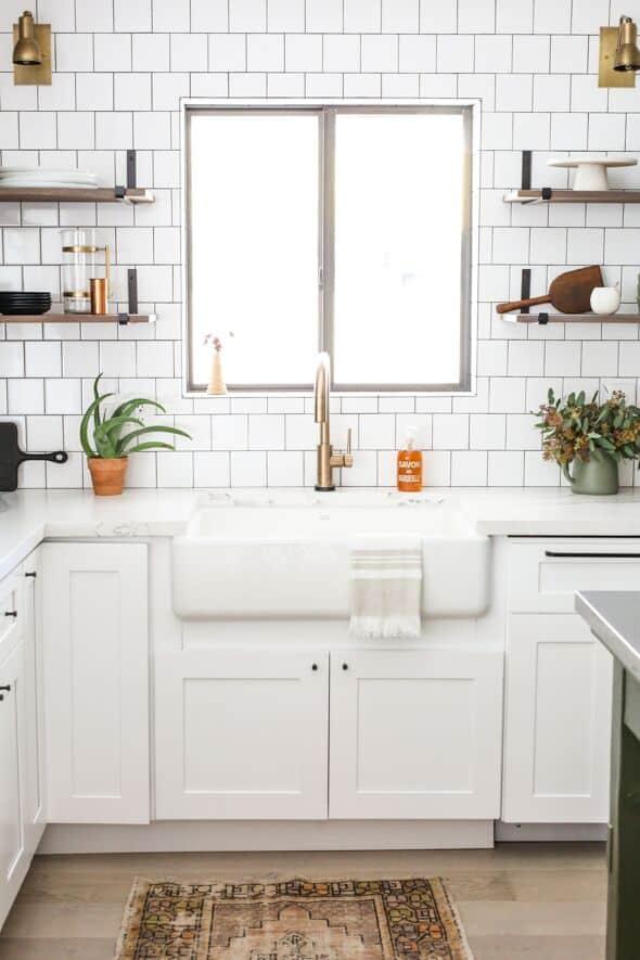 custom kitchen in white shaker near me