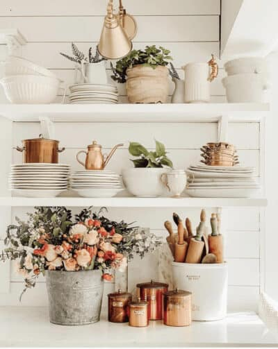 Kitchen shelves and cabinets in arizona